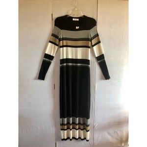 Anthropologie Dresses - NEW!! Anthro Bailey 44 Norwich Striped Maxi Dress